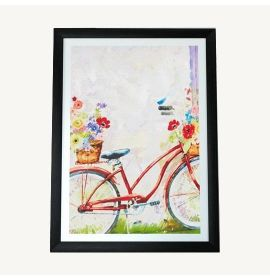 Peanuts® Snoopy and Woodstock Friends are Family Framed Print