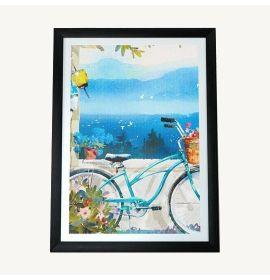 Bike Canvas 11x14