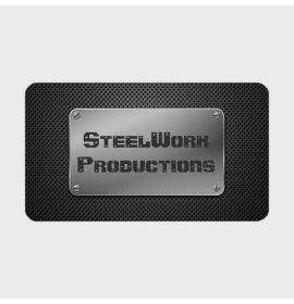 Perforated Metal Plate Business Card