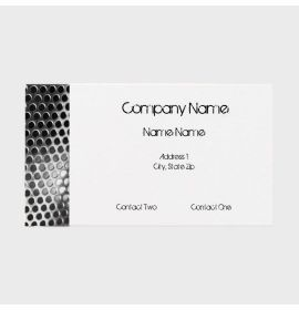 Perforated Metal Business Cards