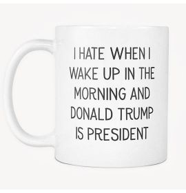 The Morning And Donald Trump Is President Mug
