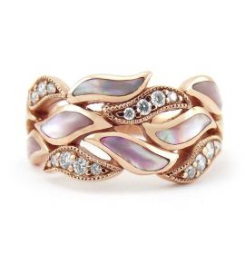 Baguette Diamond Rhodium Over Brass Necklace