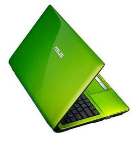 Laptop Asus-Green