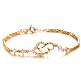 New fashion Simple style 18K